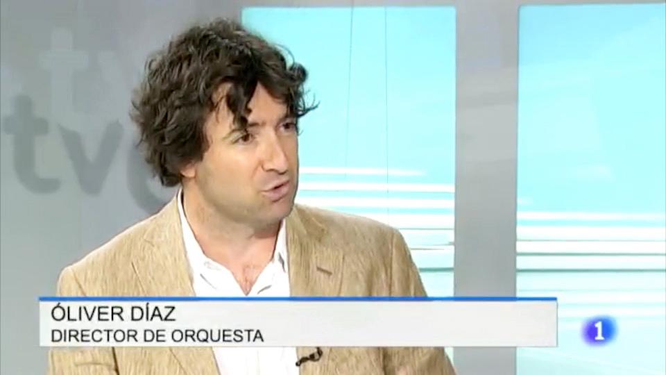 Óliver Díaz en TVE Cantabria